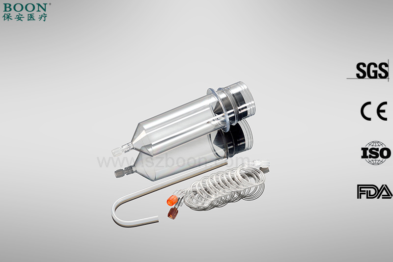 Single Use Contrast Media Injector Syringe CT MRI Angiography Syringe