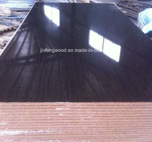 Furniture Material Carbinet Board in Door High Glossy UV Coated MDF Plywood Blockboard