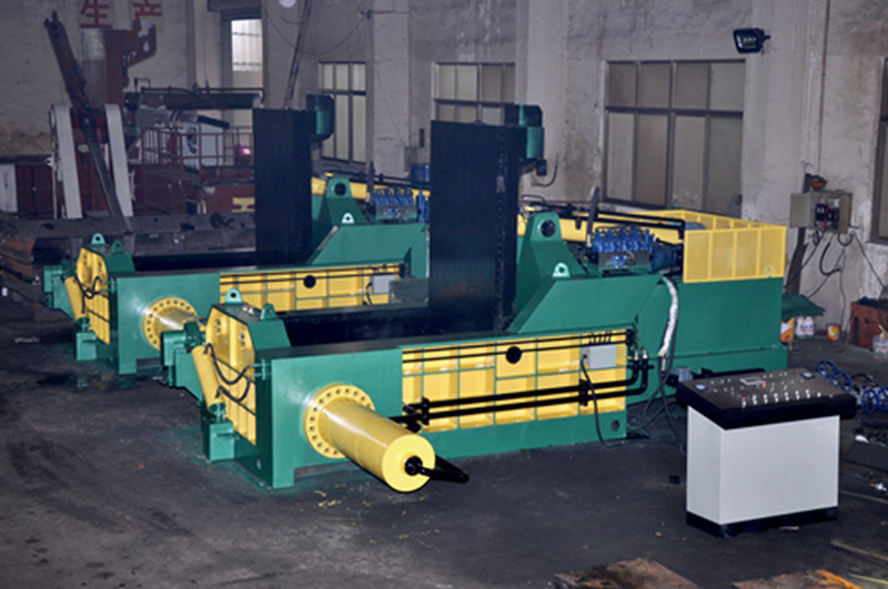 Y81f-1600 Aluminum Copper Hydraulic Scrap Metal Baler