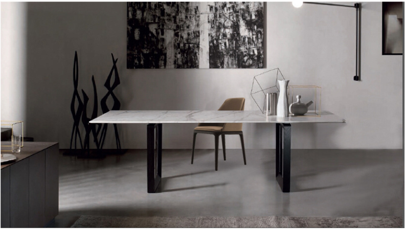 Marble Dining Table for House Use (DT002)