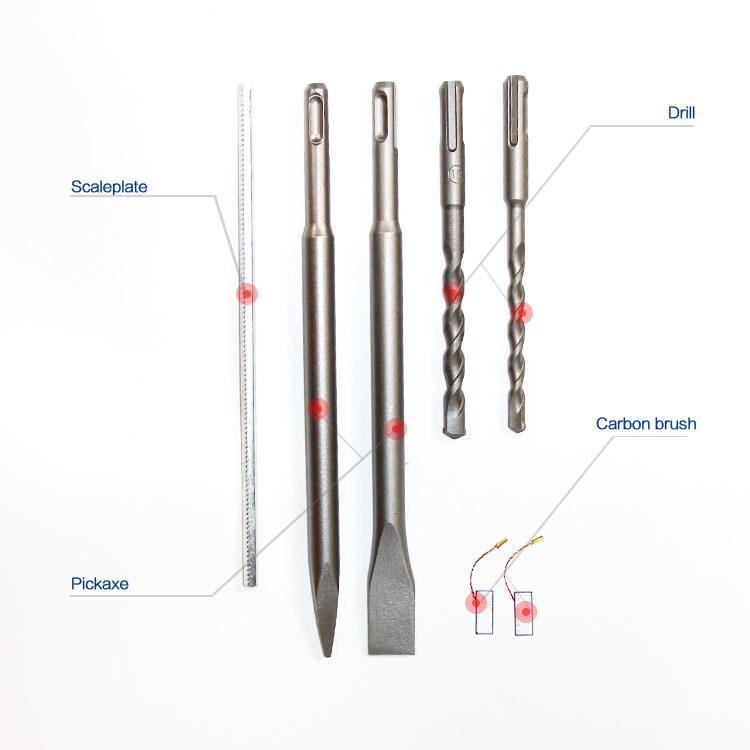 Hammer Type 26mm 800W Rotary Hammer Drill (HD001)