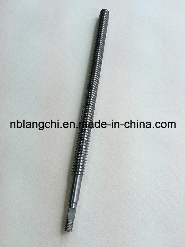 Customized Transmission Trapezoidal Thread Parts Lead Screw Tr18X18 (p4.5)