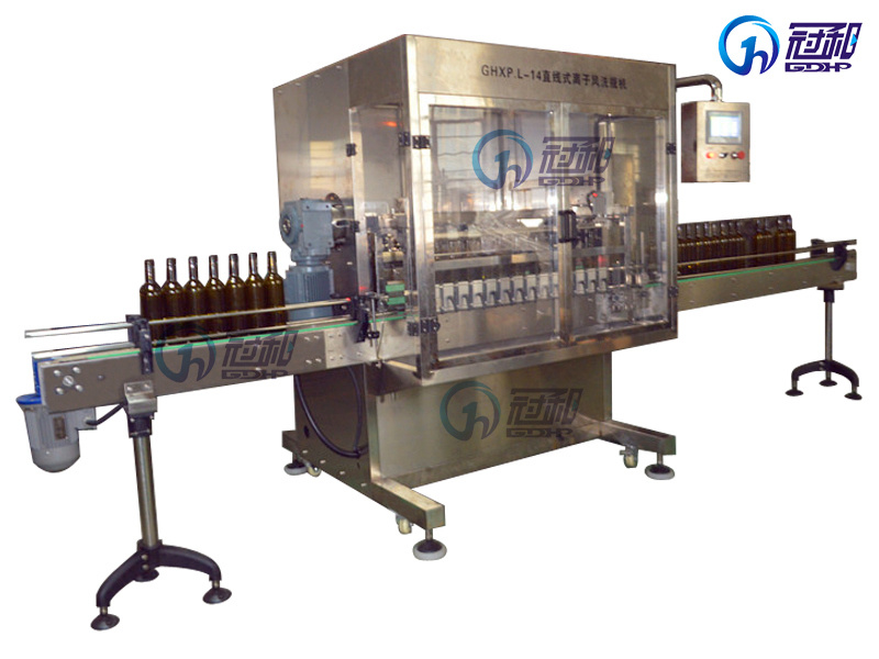 Automatic Bottle Gas Washing Machine with Filling Capping Line