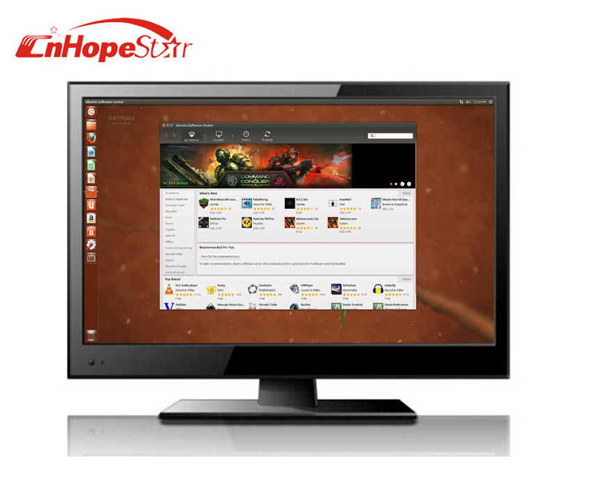 """15.6"""" LED TV with DC 12V Low Power Consumption"""