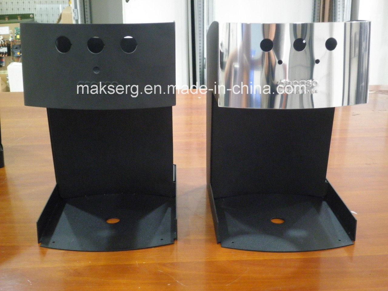Sheet Metal Fabrication for Coffee Machine Enclosure