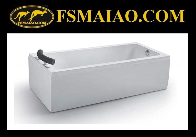 Bathroom Acrylic Freestanding Massage Bathtub (BA-8707)