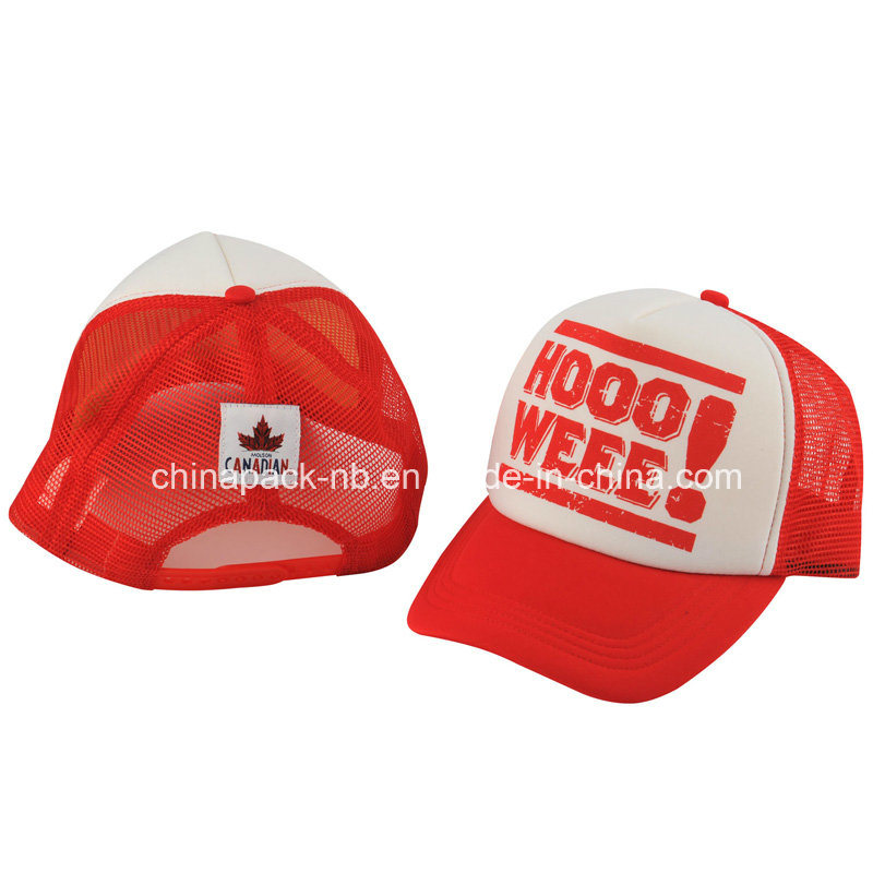 Red Canadian Trucker Hats (CPA_31023)