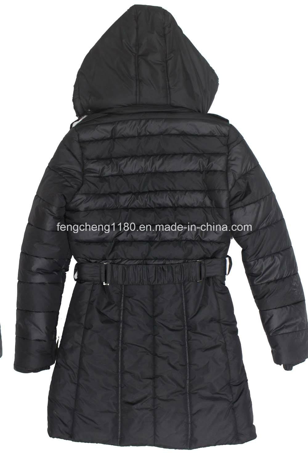 Women′s Winter Padding Jacket/Coat with Detachable Hooded
