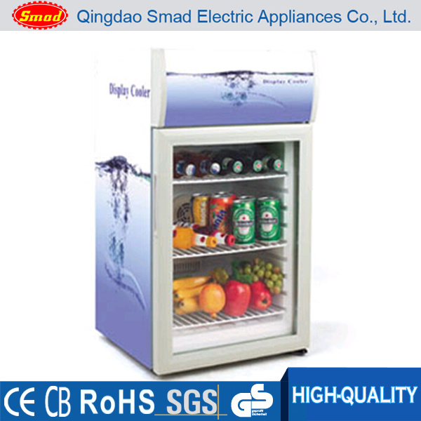 Glass Vitrine Display Cooler Beverage Refrigerated Showcase