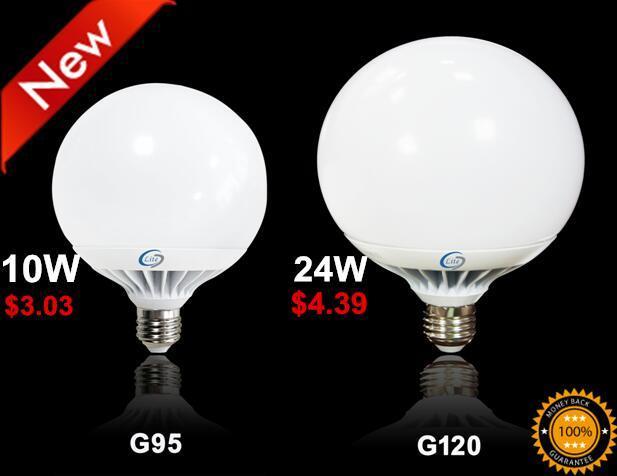 Aluminum High Power G120 Globe 18W 24W LED Light
