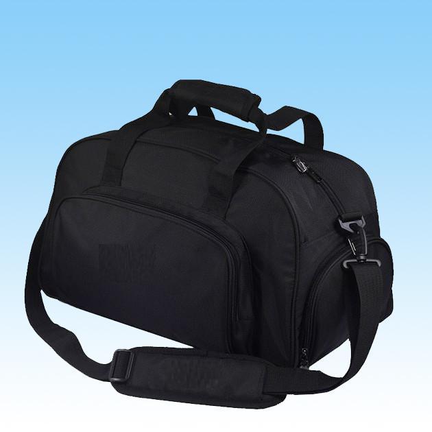 Fashion Black Portable Travel Duffel Bag for Outdoor Sport