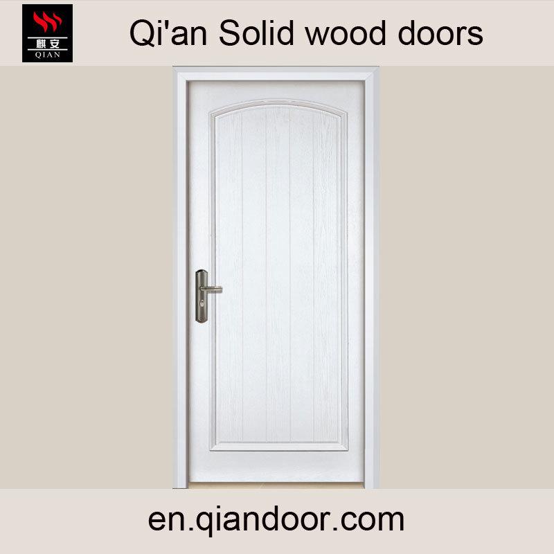 European Style Interior Solid Wood Door Foshan Factory