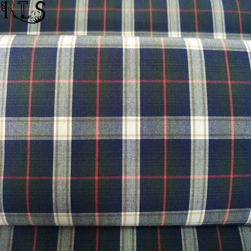 100% Cotton Poplin Yarn Dyed Fabric Rls50-5po