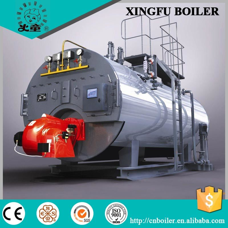 Industrial Natural Gas and Oil Fired Steam Boiler