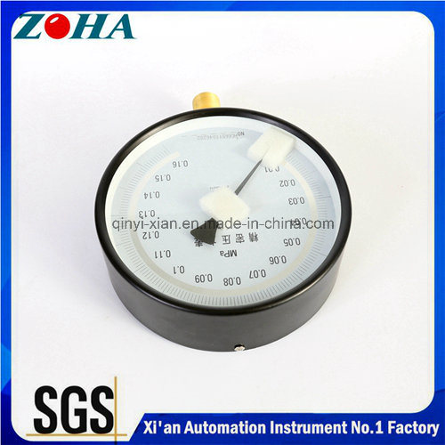 Hydraulic 0.25% Accuracy High Precision Pressure Gauges for Calibration with Pressure Range From -0.1 to 160MPa