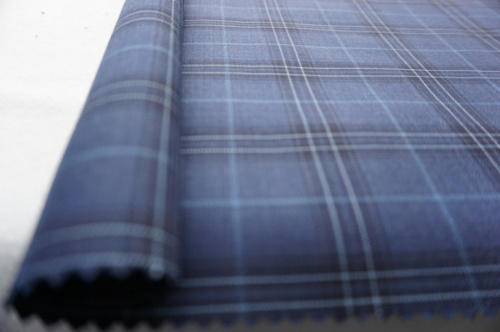 Plaid Wool Fabric for Suit and Jacket
