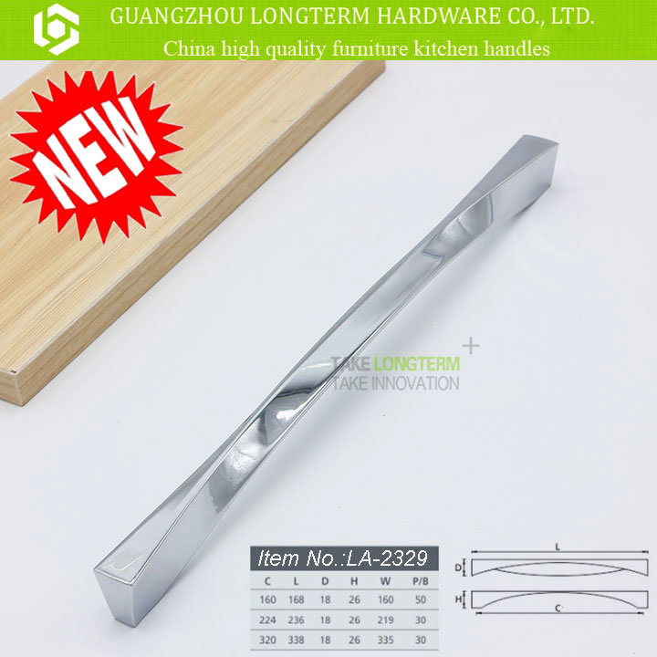 European American Style Modern Zinc Alloy Kitchen Cabinet Handle