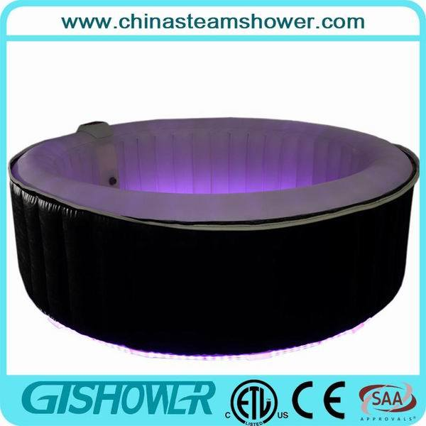 Blow up Soft Hot Tub with LED Strip (pH050018 LED)