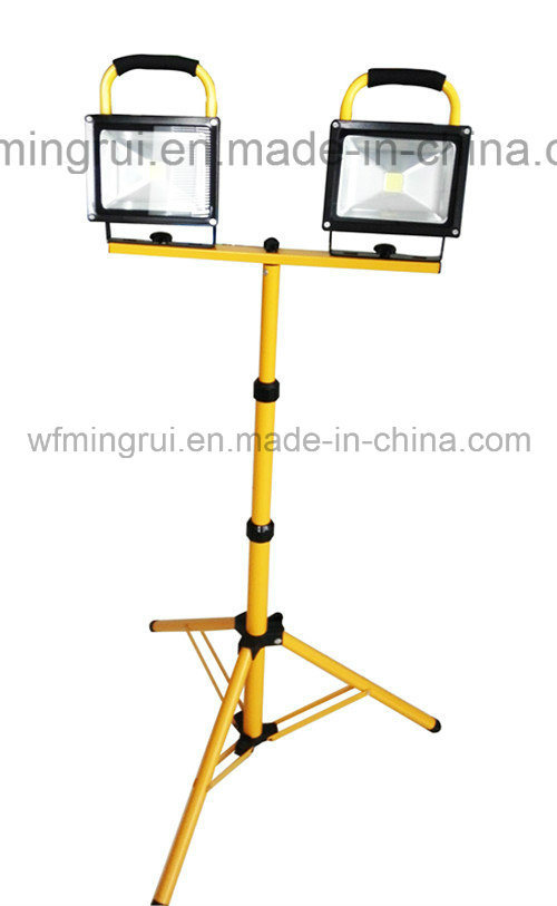 10W-50W SMD / COB LED Rechargeable & Portable& Waterproof Flood Light / LED Working Light/ LED Emergency Light with CE SAA