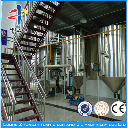 Soybean Oil Press and Refinery Machine (2-30t/D)