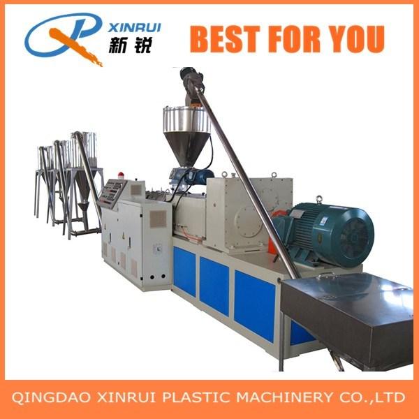 PE WPC Wood Plastic Composite Flooring Extruder Making Machine