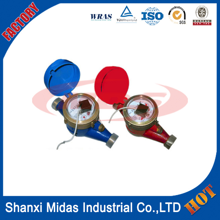 Multi-Jet Dry Type Vane Wheel Pulse Transmitting Cold (Hot) Water Meter