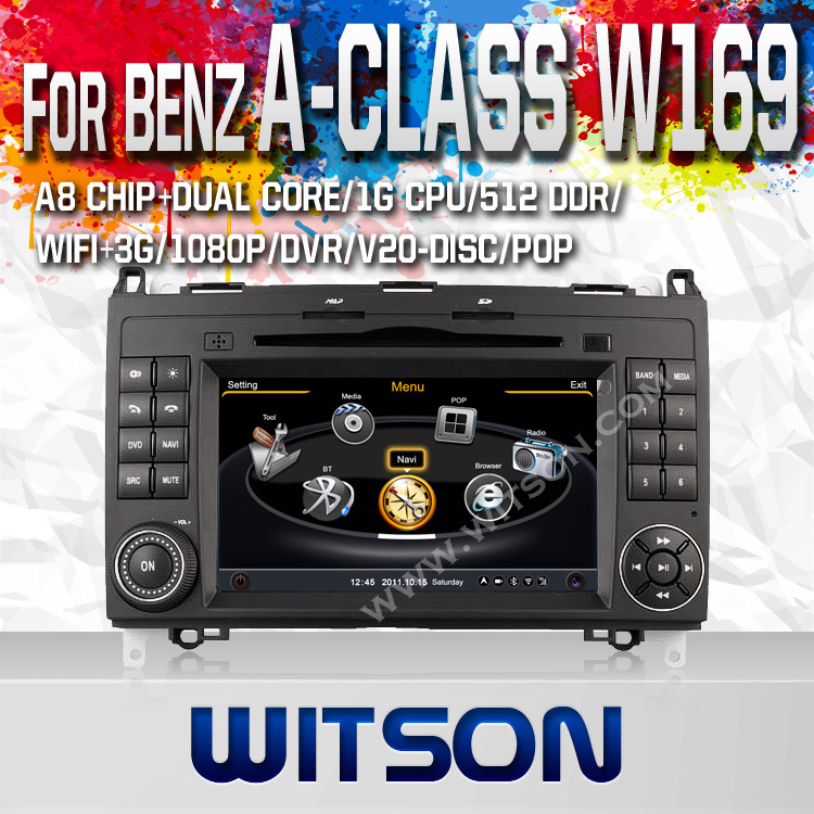 Witson Car Radio with GPS for Mercedes-Benz a Class (W169) (2005-2011) /B Class (W245) (2009-2011) /Viano/Vito/Sprinter, V-Class (2010-2011) (W2-C068)