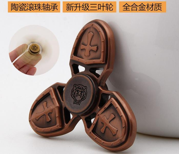 2017 Factory Crusader Spinner Fidget Hand Spinner Toy Fidget Spinner