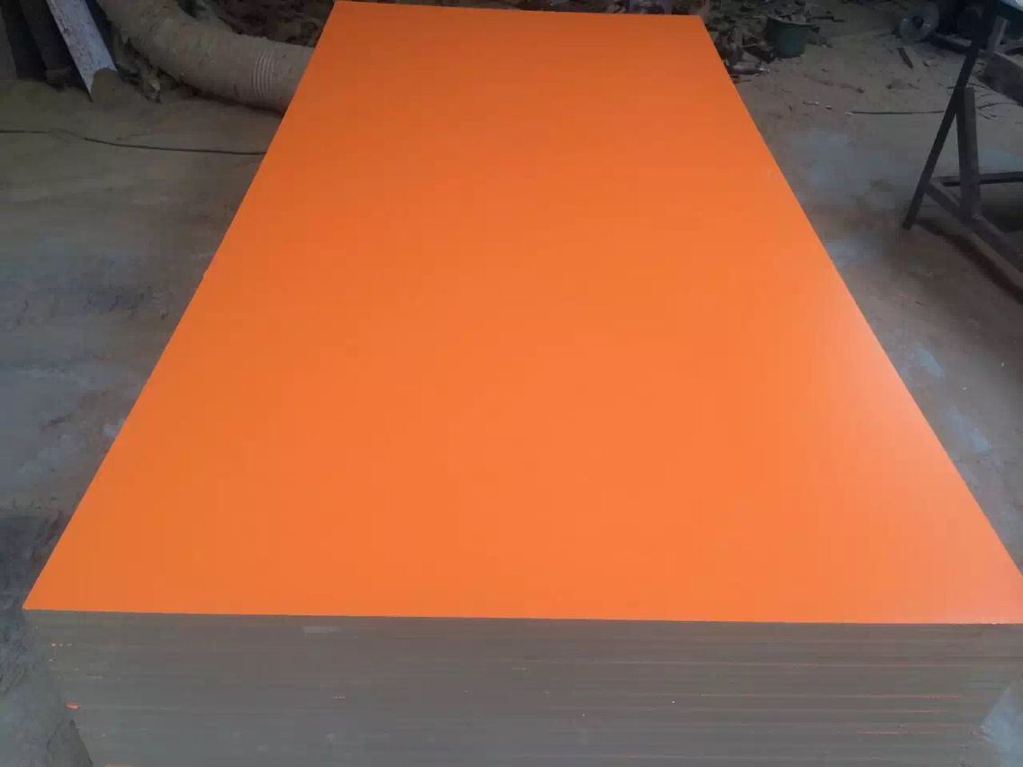 Melamine Paper Overlaid Grooved MDF in Decoration