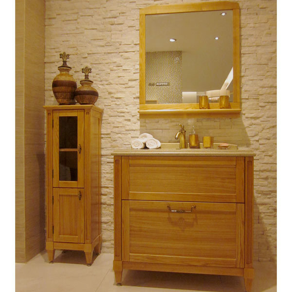 china hot sale classic solid wood bathroom cabinet photos pictures