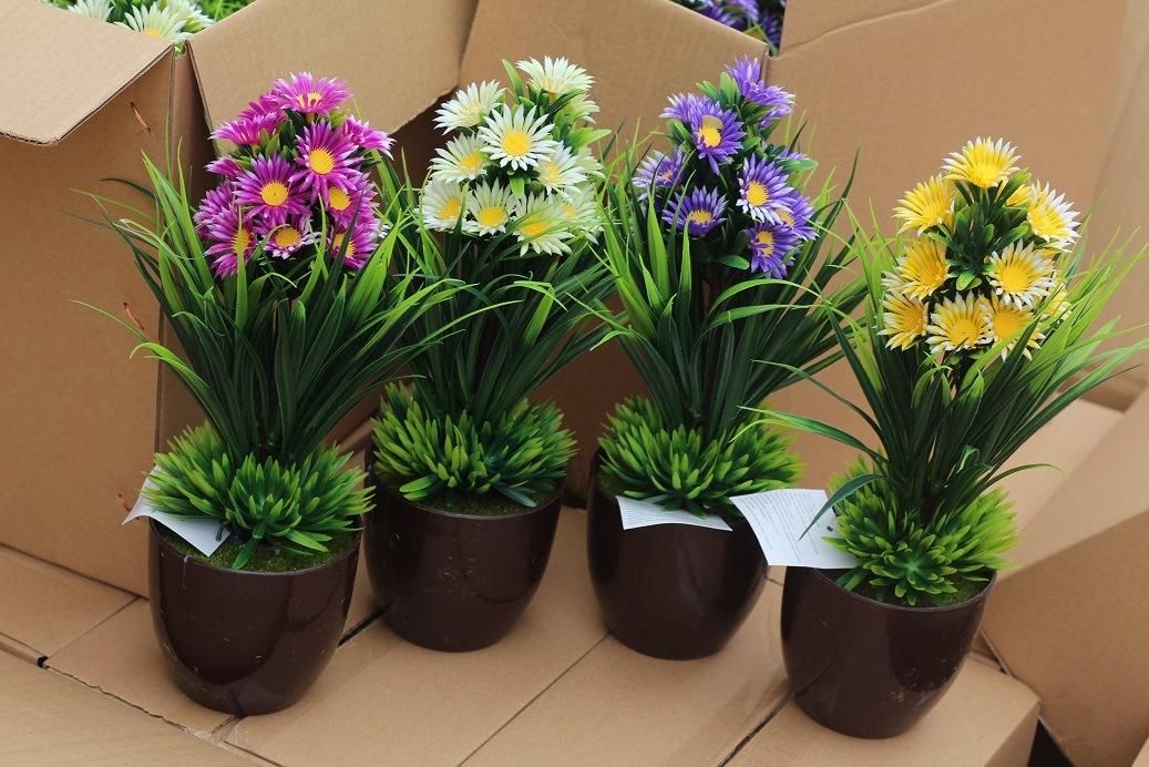 Artificial Plastic Plants and Flowers of Small Bonsai Plants Gu201709