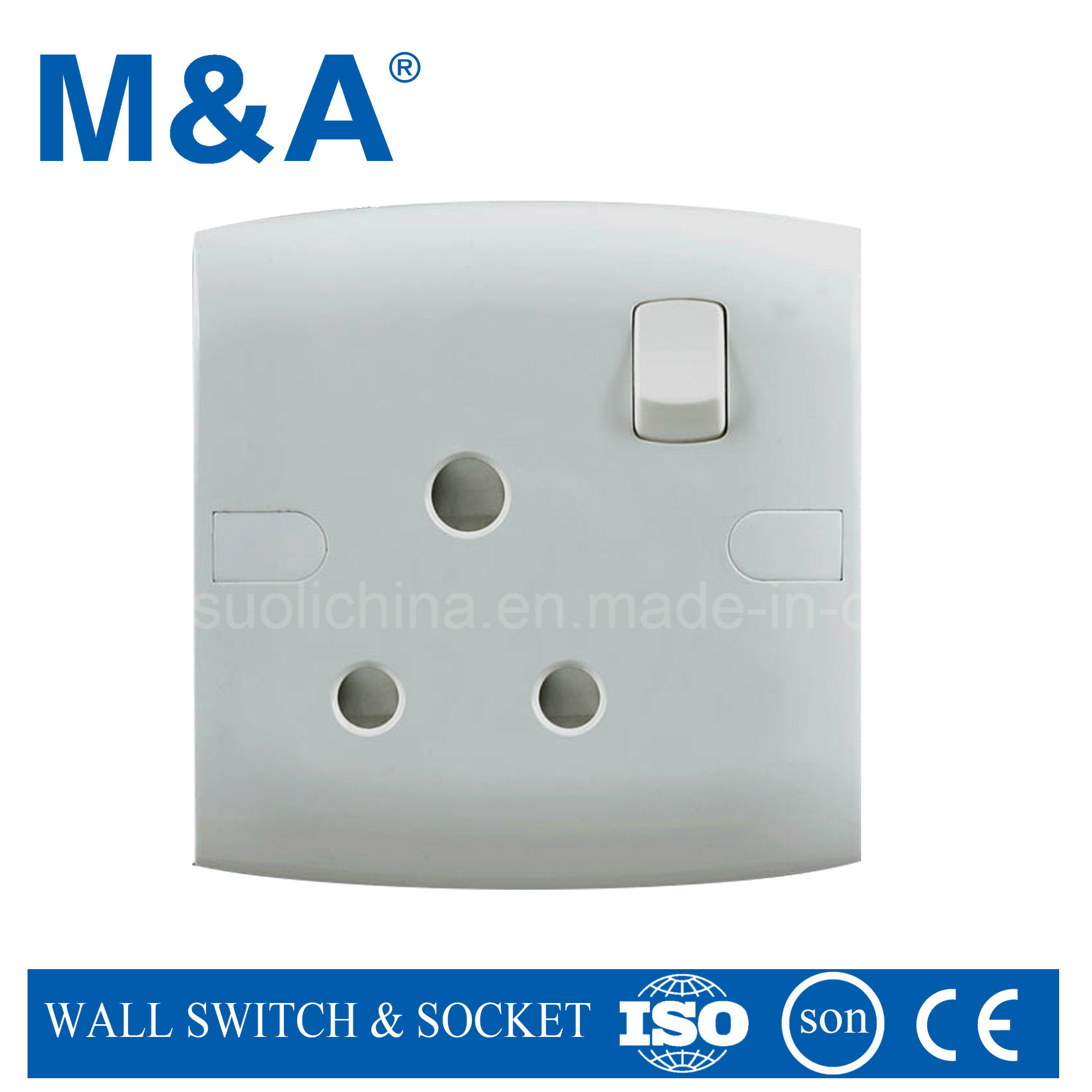 Me Series 1 Gang 15 a Switched Socket