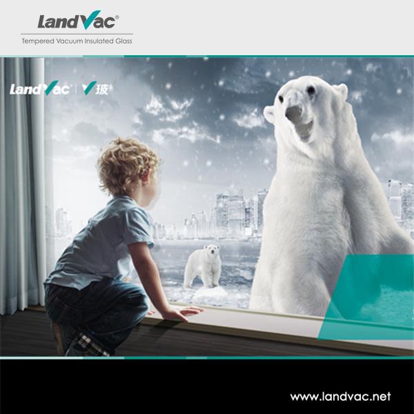 Landvac Hot Sale Vacuum Insulated Tempered Sound Insulation Glass