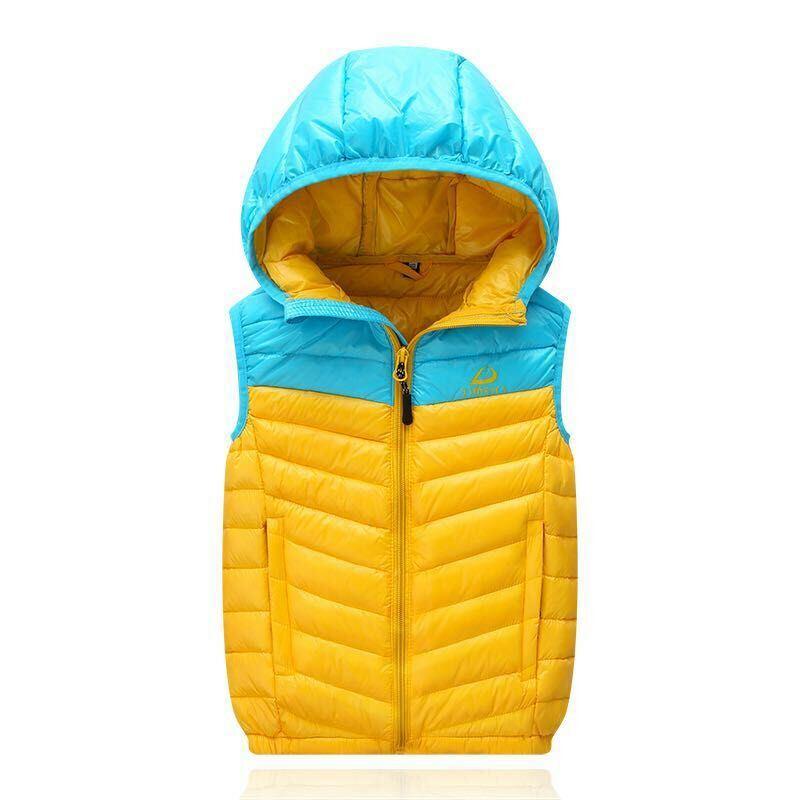 Fashion Light Vest Winter Warmer Feather Coat Cloth Down Jacket