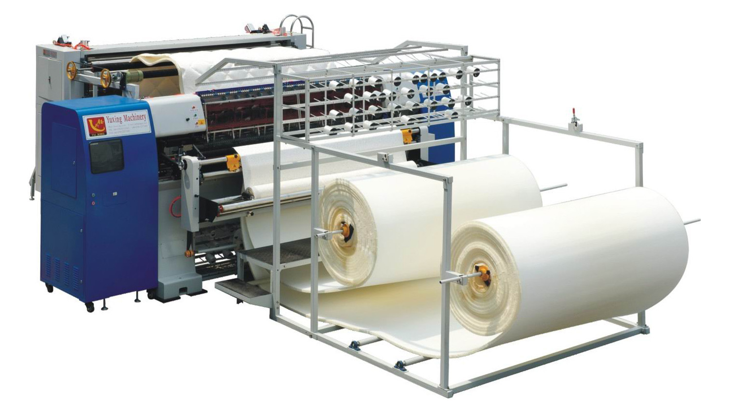 High Production Hot Air Textile Chinese Quilting Machine