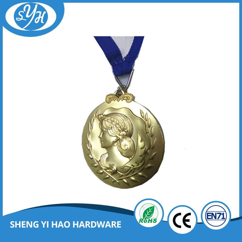 2017 Special Gold Make Your Own 3D Medal