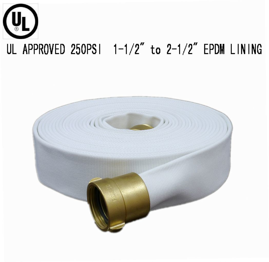 UL Listed EPDM Fire Hose (250PSI)