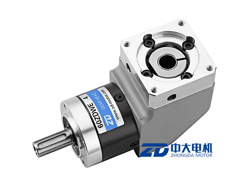 ZD Round Mounting Flange Right Angle Planetary Gear Box