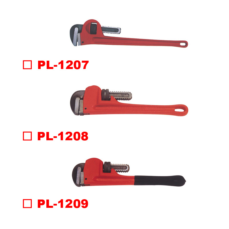 American Light Duty Pipe Wrench - American Heavy Duty Pipe Wrench Dipped Handle