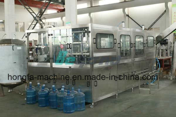 Qgf-300 Full-Automatic 5 Gallon Barrel Bottling Machine