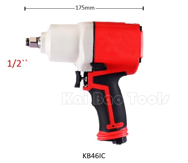 Double Loop 1/2`` Air Impact Wrench