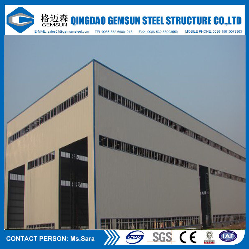 Low Cost High Quality Steel Structure Warehouse Made in China