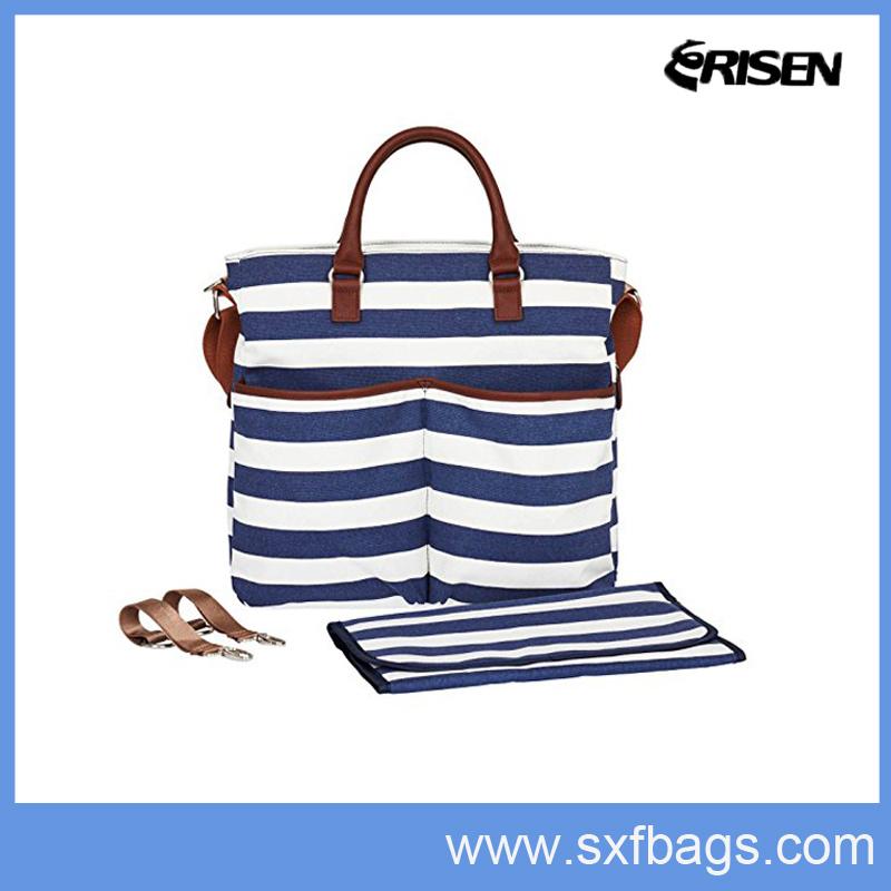 Following Trend Canvas Tote Bag, Baby Bag, Diaper Bag