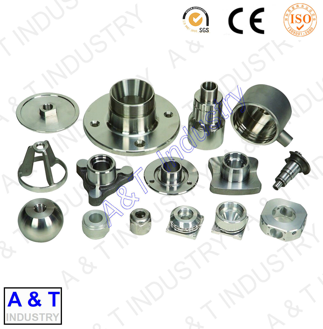 CNC Cusotmized Stainless Steel/Brass Aluminum/Forging Parts Textile Parts