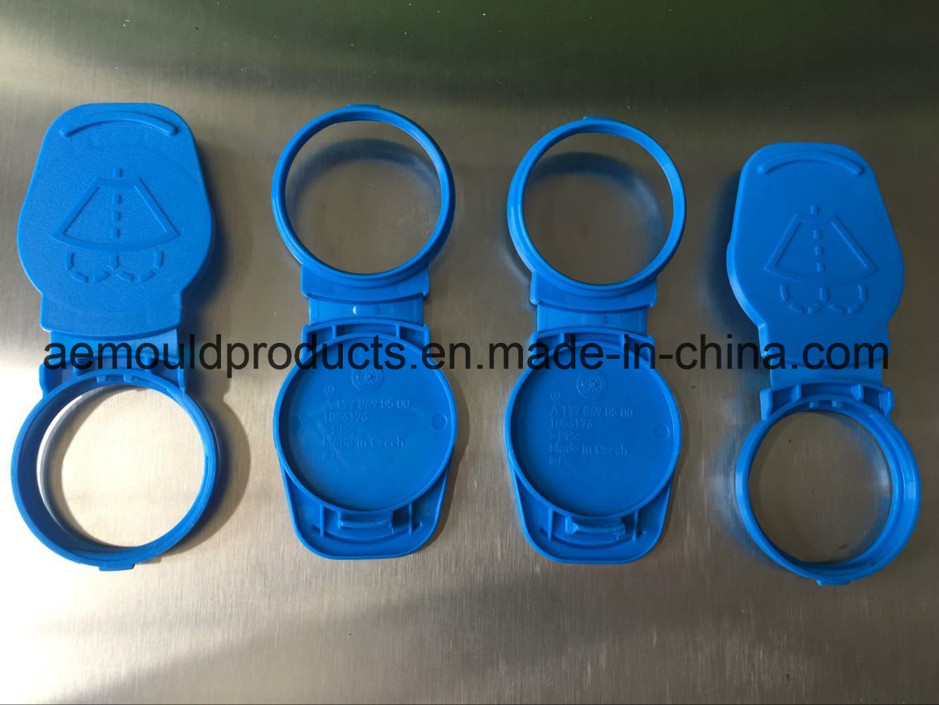 Plastic Clip-Cap Custom Injection Mould