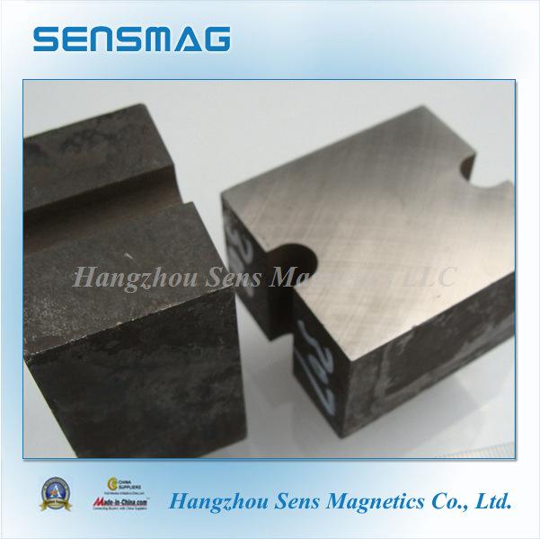 Manufature Cast Permanent AlNiCo8 Block Magnets