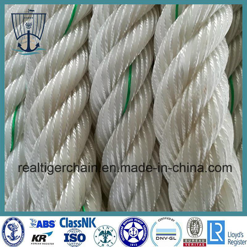 Marine Power 3/4-Strand Mooring Rope with Certificate