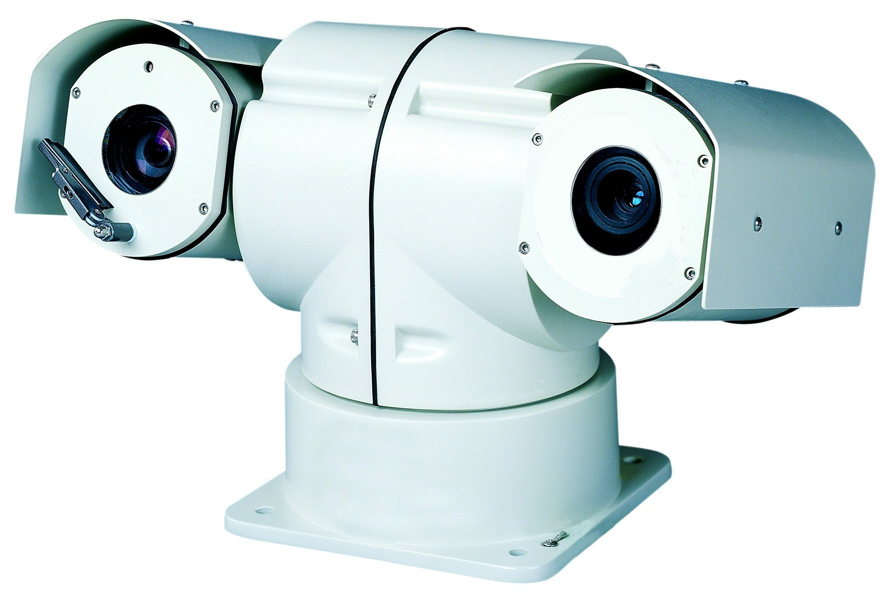 4k 3840 X 2160@30fps Thermal Laser PTZ HD Camera with IP Outdoor with Wiper