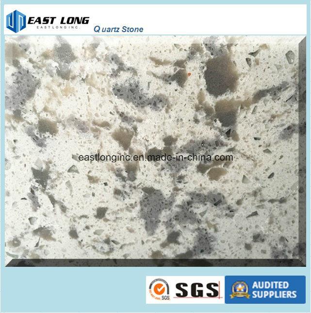 Cambria Marble Color Quartz Stone Slab for Building Material