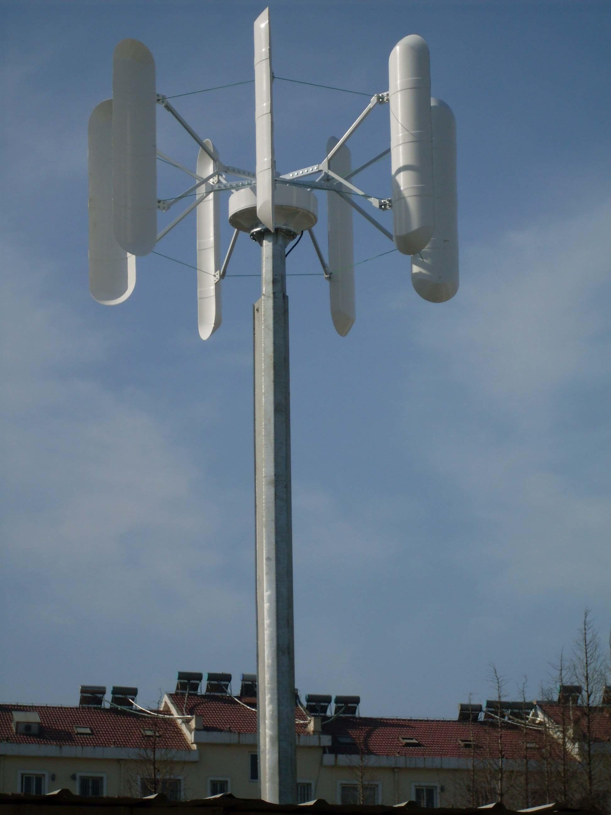 Vertical Axis Wind Turbine Generator/Alternator